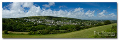 Green landscape (Simon Bone Photography) Tags: panorama green landscape cornwall village view valley cornish lanner canon1740mmlf4 carnmarth wwwthehidawaycouk canoneos7d canonef24105mmlf4
