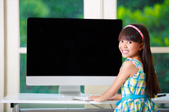 Little asian girl with computer at home (Patrick Foto ;)) Tags: portrait people cute home girl beautiful smile childhood modern female computer notebook table asian fun happy person pc kid student education keyboard pretty technology child play hand little expression laptop room internet joy daughter working young lifestyle happiness using online learning wireless casual leisure preschool concept homework cheerful learn caucasian