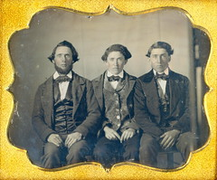 "1/6 Daguerreotype "" 3 Brothers"" (Mirror Image Gallery) Tags:"