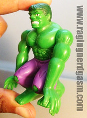 Hulk Cake Topper  (1) (Raging Nerdgasm) Tags: cake tom hulk topper raging rng nerdgasm khayos
