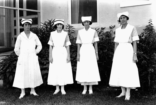 Nurses at Jackson Memorial Hospital: Miami, Florida