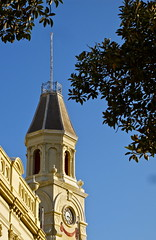 Winter Afternoon Light (Padmacara) Tags: architecture australia townhall fremantle shadowlight g10