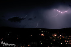 Lightning in the darkness (Efy Twin) Tags: cloud storm cold rain night canon dark photography eos spring darkness wind tripod may anger rage zeus arrows rainstorm thunderstorm gloom lightning 18 55 downpour stefania thunderbolts ephie 2013 papagni 1000d