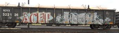 acet webs (TrackSideLife) Tags: train graffiti freight webs bk acet