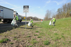Adopt-A-Highway Clean-up (BC MICH GUARD) Tags: earthday adoptahighway battlecreekairnationalguard