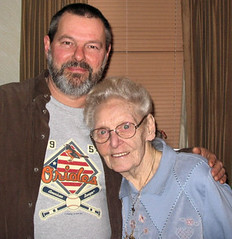 Tim & Alma Kelly (his Grandmother) (tineb07) Tags: tim alma 2006 kelly fales