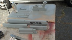 Parts primed 2 (malsfantasyfactory) Tags: rifle replica build oblivion