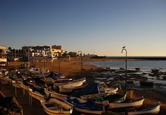 (anagarcica96) Tags: beach fisherman andaluca playa barcas cdiz pescadores