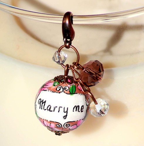 Personalised Engagement Idea - Marry me