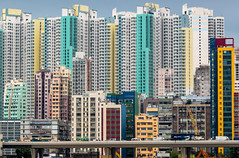 Kwun Tong from Kai Tak (Keith Mulcahy) Tags: buildings hongkong landscapes airport skyscrapers highrise firestation kowloon derelict kaitak kwuntong hongkongoldairport canon5dmk3 keithmulcahy blackcygnusphotography ppa7a0 ppd56c