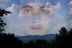 Great (nickgrubinger) Tags: trees mountains clouds view portait overlay hills portaiture
