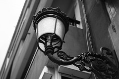 Nothing Is Too Special (NinoDeRua) Tags: street city light portrait white black detail lamp valencia canon 50mm spain