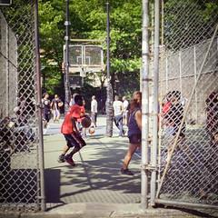 West 4th Street Courts (Rob.Young) Tags: film zeiss kodak cm hasselblad carl epson 100 500 f28 planar 80mm ektar carlzeiss v700