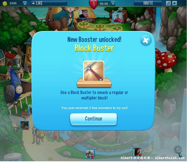Pet Rescue Saga_第7關後出現的工具Block Buster