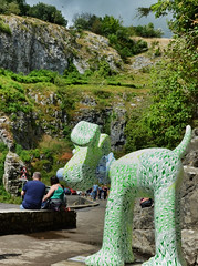 #76 Amazing by Tom Berry at Cheddar Gorge (CarolynEaton) Tags: maze gorge cheddar cheddargorge tomberry