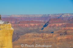 Early Morning at Grand Canyon (Thank You 7.5 Million Visitors!) Tags: arizona snow grandcanyon southrim grandcanyonnationalpark earlymorninglight maricopapoint grandcanyonsouthrim hermitroad pamelaschreckengost pamschreckcom 2013pamelaschreckengost