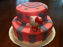 Hello Kitty Cake, by Cristy, RDU, NC, www.birthdaycakes4free.com