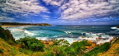 Tamarama coast (autumnwaters) Tags: ocean sea beach bondi clouds coast australia bluesky nsw tamarama