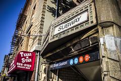 Subway (nickfehlinger) Tags: new york city nyc newyork train subway harlem abcd
