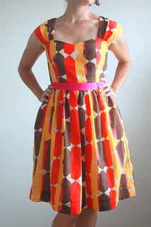 Fall party dress