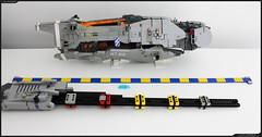 WIP - TEMBER 2 (Pierre E Fieschi) Tags: fiction art ship lego pierre wip science micro spaceship fi concept sci microspace fieschi microscale microspacetopia pierree shiptember