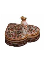 Heart Style Marble Kumkum Chopra