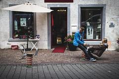 (HerrNovember) Tags: street playground seesaw streetphotography konstanz constance spielplatz wippe