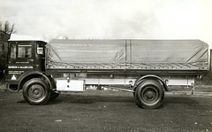 Barker & Allen Albion Super Clydesdale (71B / 70F ( Ex Jibup )) Tags: new promotion photography corporate official tipper view box company vehicles prototype trucks trailer chassis sell artic development tanker manufacturer lorries advertise bodywork promote rigid flatbedtractorunit