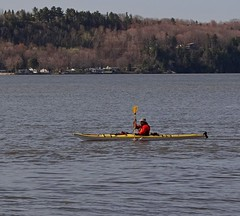 Un matin de printemps - A spring morning (Jacques Trempe 2,540K hits - Merci-Thanks) Tags: morning river spring kayak quebec stlawrence stlaurent printemps matin fleuve stefoy