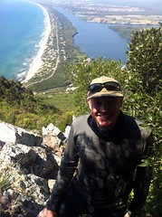 """Me on the way down Monte Circeo (Photo: Edita Nichols) • <a style=""""font-size:0.8em;"""" href=""""http://www.flickr.com/photos/41849531@N04/17587520522/"""" target=""""_blank"""">View on Flickr</a>"""