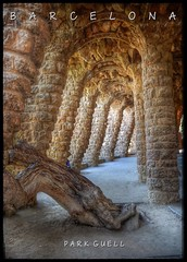 Park Guell - Barcelona (RobinHoude) Tags: barcelona architecture nikon gaudi hdr parkguell barcelone