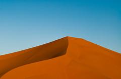 Dune (Hamza Bendahmane) Tags: africa sky sahara nature landscape algeria sand nikon desert dune sable land algerie simple