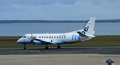 G-LGND Saab 340 Flybe Kirkwell 14-05-15 (cvtperson) Tags: airport orkney koi saab 340 loganair flybe kirkwell glgnd egpa