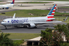 Oneworld (American Airlines) Boeing 767-323/ER  N343AN @ SJU  6-14-2015 (Hector A Rivera Valentin) Tags: travel sky birds canon airplane eos flying is airport wings globe mac marine skies power aircraft aviation military airplanes transport flight wing cargo passengers landing explore american engines transportation 7d planes airbus trust boeing usm ang amc airports airlines usaf warbirds takeoff aeropuerto ef troops regional wonders airliner avion airshows airfield aviones sju t3i airlift pasengers oneworld aviacion landings 100400 intotheblue aeroplanos f4556l canon60d 767323er n343an canon7d 6142015 trustreverse