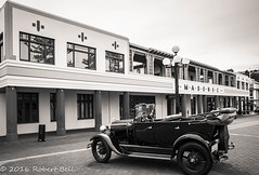Masonic Hotel BW (zzrbell) Tags: artdeco napier newzealand hawkesbay nz