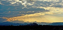 Towards the End of the Day (diamonds_in_the_soles_of_her_shoes) Tags: sunset landscape nature teampilipinas mountainrange mountains hills nlex