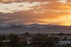 Mount Evans Sunset (Kevin Bauman) Tags: mountains mtevans mountain mountevans mountmorrison denver colorado sunset