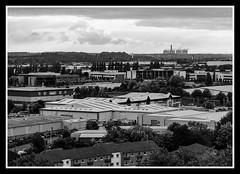 View Towards Ratcliffe Agfa APX 25 (veggiesosage) Tags: nottingham nottinghamcastle blackandwhite dxofilmpack fujifilm fujifilmx20 x20