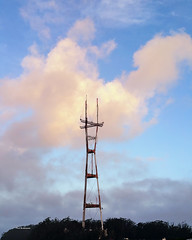 Clouds (davidyuweb) Tags: sutro tower morning clouds sfist twin peaks