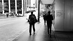Workday Weather - Ben Carney, BCIT Online Journalism (bencarney1990) Tags: bcitbroadcasting bcit streetphotography vancouver visualart trainstation yuppies coalharbour