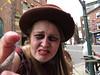 Greeter at York Dungeons (Ian Press Photography) Tags: greeter york dungeons greet actor actress dungeon tourist