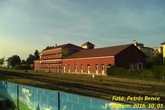 Sopron-Déli pu., 2016. 10. 01. (petrsbence) Tags: gysev vonat vasút railways trains bahn zug állomás vasútálllomás pályaudvar soprondélipu délipályaudvar soporn hungary