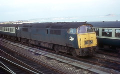 Western - 1030 (dgh2222) Tags: class 52 western 1030 region penzance station cornwall 1970s 1973