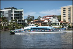 Brisbane CityCat Team Brisbane passing by-1= (Sheba_Also Millon + Views) Tags: brisbane citycat team passing by