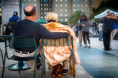 Tango (stefanws) Tags: music people sanfrancisco dancing unionsquare california couple streetphotography watching