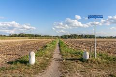 """Bike path across the fields"" (Dirk van der Veen) Tags: enschede clouds usseleres bike path"