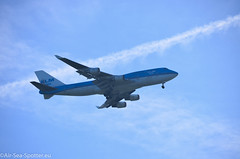 Boeing 747-400M PH-BFP (Austrian Air Spotter) Tags: 747428 747400 b747428 b747 boeing747400 aircraft airline fahrzeug flugzeug flughafen jet jumbojet outdoor amsterdam schiphol