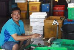 Fish Trader of Sg Udang (<Pirate>) Tags: sungai udang nibong tebal fishing point fish traders fresh october 23rd 1018 is stm ray masters gnd 9soft penang malaysia