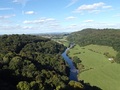 View from Symonds Yat Rock towards Goodrich, Gloucestershire, 22 September 2016 (AndrewDixon2812) Tags: symonds yat river wye valley herefordshire gloucestershire coppet coppett hill goodrich
