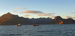 Sundown on Skye (Free.heel) Tags: skye elgol cuillins